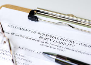 New Jersey Personal Injury Evidence
